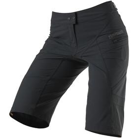 Zimtstern Startrackz Evo Pantaloncini Donna, grigio/nero
